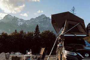 tente de toit montagne